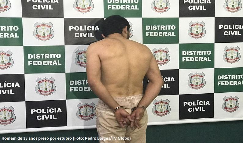 Homem é preso no DF suspeito de estuprar vizinha de 15 anos grávida