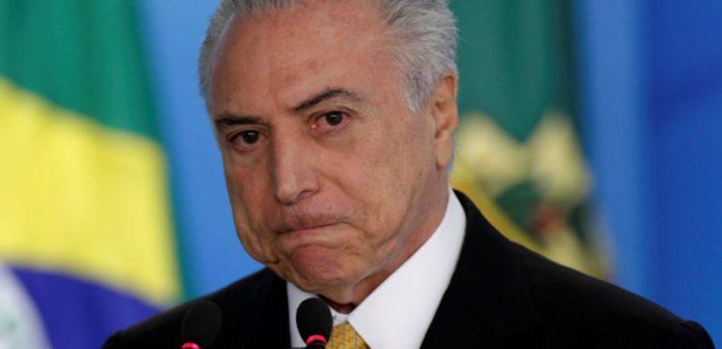 Acusação contra 'quadrilhão' do PMDB deixa Palácio do Planalto em alerta