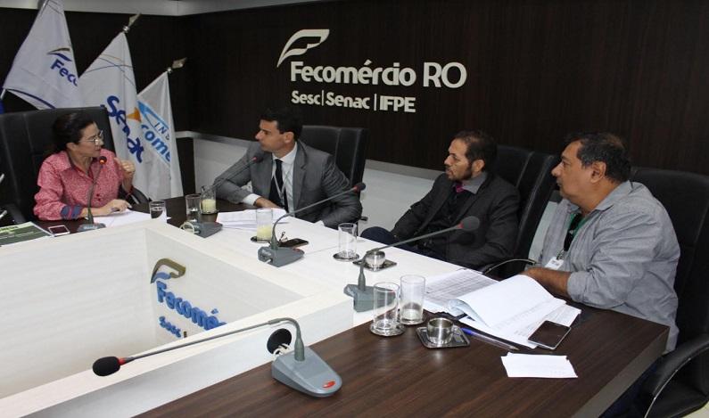 Fecomércio-RO recebe representante da Infraero Nacional para tratar do alfandegamento do Aeroporto Jorge Teixeira