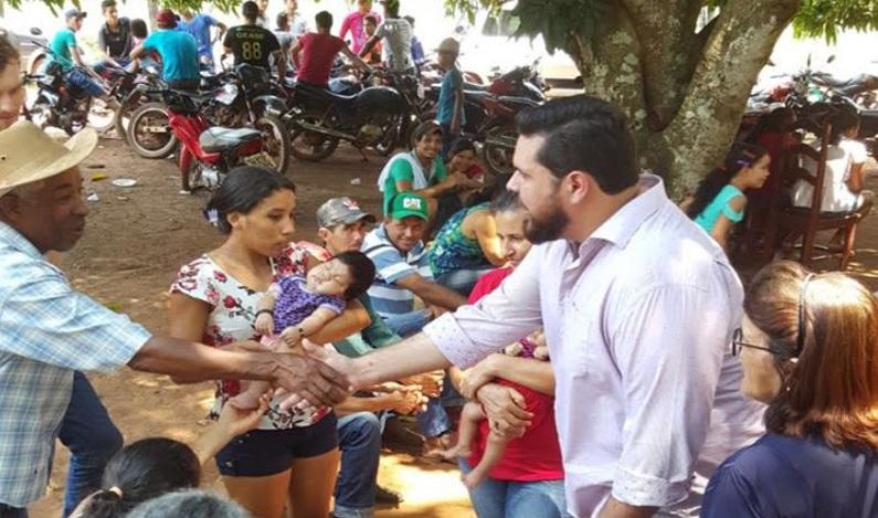 Jean Oliveira visita municípios participa de reuniões e recebe demandas