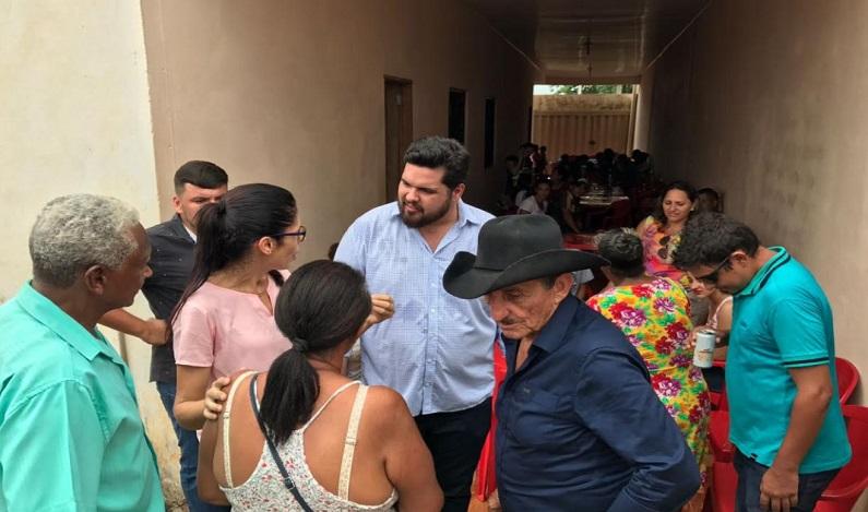 Jean Oliveira assume compromisso com o município de Monte Negro