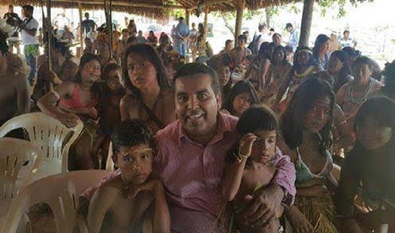 Deputado Federal Lindomar Garçon anuncia liberação de meio milhão de reais a Indígenas