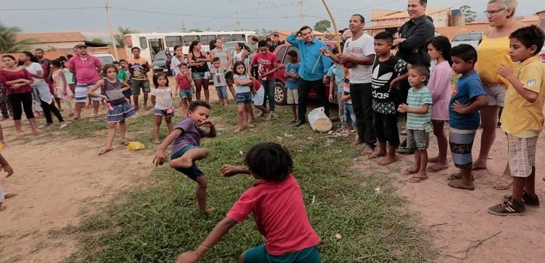 Maurão de Carvalho prestigia leilão Direito de Viver em Candeias doJamari
