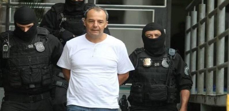 Bombeiros farão festa pelo primeiro ano de Cabral na prisão