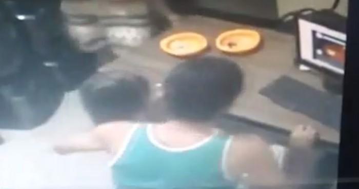 Câmera flagra amigo da família abusando de menina de 3 anos em escritório no MT