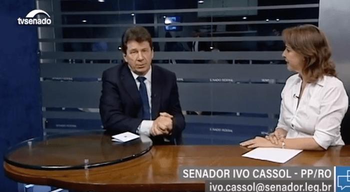 Café clonal atrai ministro a Rondônia, diz Ivo Cassol em entrevista à TV Senado