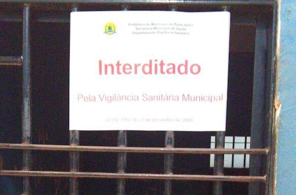 URGENTE: Vigilância Sanitária interdita parte da Central de Polícia em Rondônia