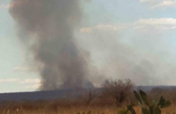 Norte da Bahia em chamas; mais de 100 km já foram atingidos