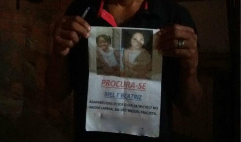 Corpos encontrados em van são de meninas desaparecidas em SP, confirma laudo