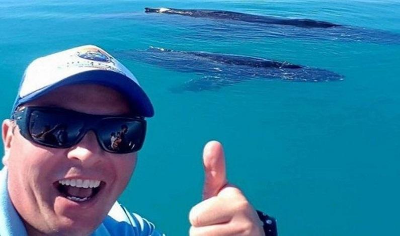 Mergulhador nada por três horas para fugir de tubarão na Austrália