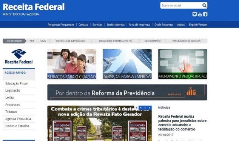 Novo golpe usa nome da Receita Federal em carta que pede regularização de dados cadastrais