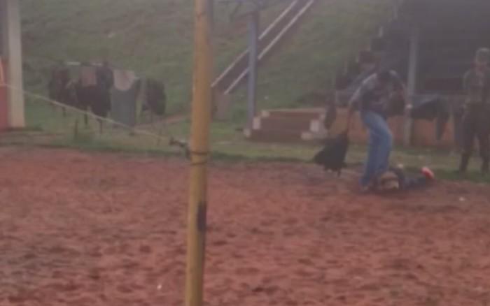 Vídeo mostra soldado do Exército tendo a cabeça pisada por superior; MPF investiga