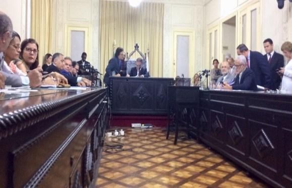 CCJ da Alerj discute prisão de Picciani, Albertassi e Paulo Melo