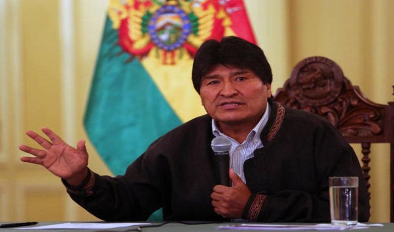 Liberado por decisão do Supremo, presidente da Bolívia anuncia candidatura em 2019