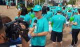 Maurão participa da caminhada Passos que Salvam, que alerta para a prevenção do câncer infanto juvenil