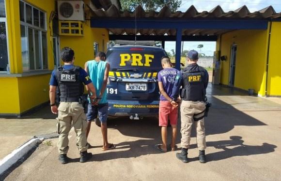 Dupla é presa depois de furtar motos que seriam leiloadas pela PRF em RO