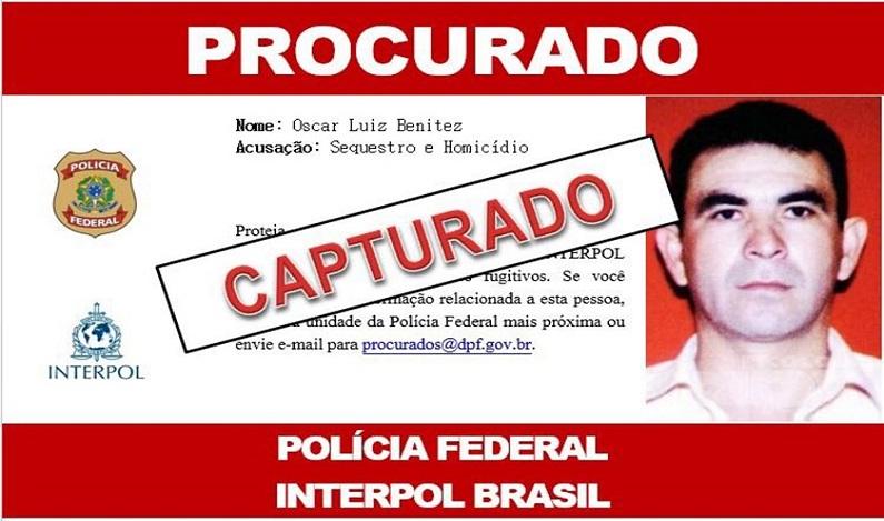 PF prende acusados por assassinato de filha de ex-presidente paraguaio
