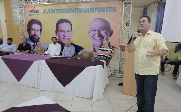 PMDB de RO reúne pré-candidatos e dirigentes para discutir eleições; mas Confúcio não foi