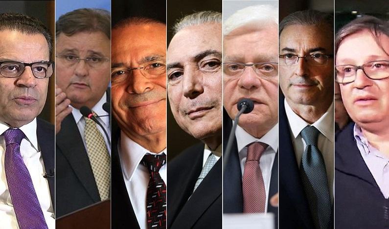 Fachin envia a Moro denúncias contra Cunha, Geddel e Rocha Loures