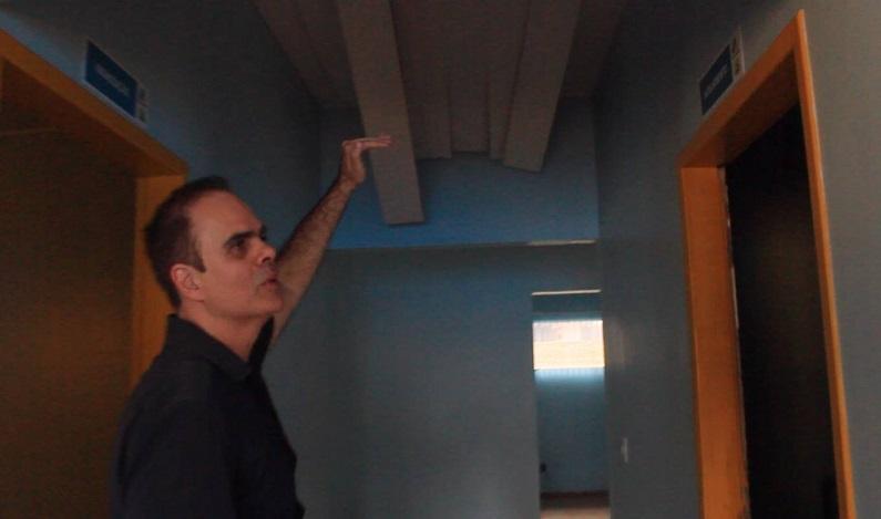 Alan Queiroz visita unidade de saúde do Castanheira para apurar denúncias