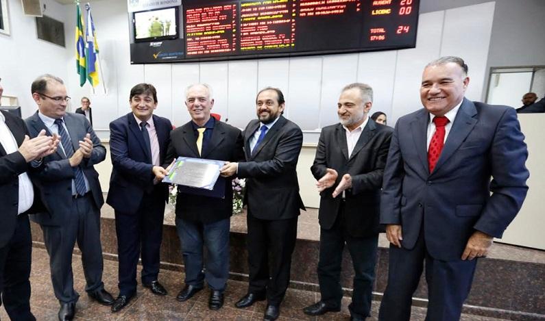 Assembleia Legislativa concede título de cidadão honorífico a Jesualdo Pires e Mauro Nazif