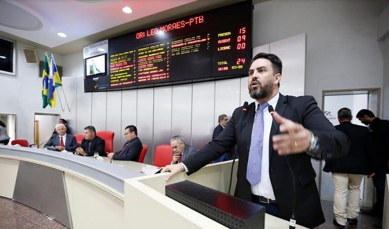 Deputado Léo Moraes pede auxílio dos parlamentares em demandas
