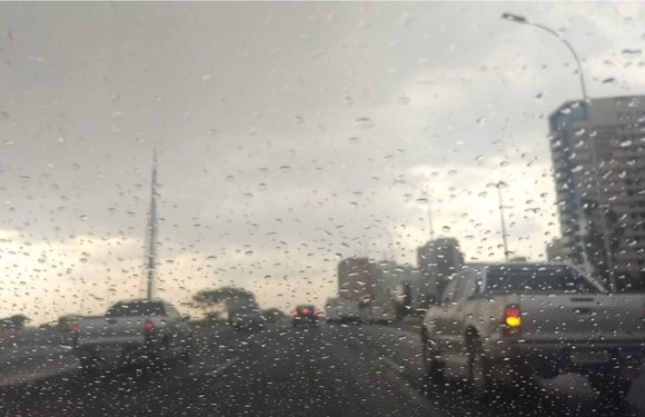 Inmet dispara aviso de perigo potencial devido a risco de tempestade no DF
