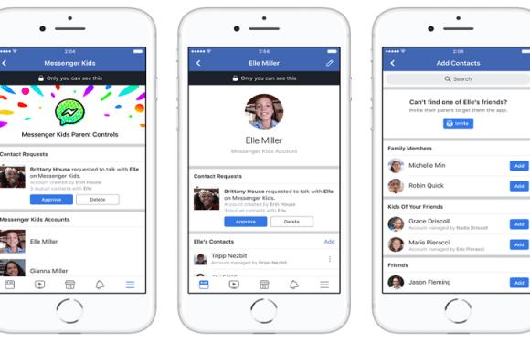 Facebook lança Messenger Kids, app de bate-papo para crianças menores de 13 anos