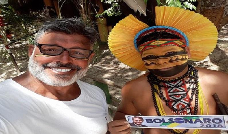 Alexandre Frota é acusado de manipular índio para apoiar Bolsonaro; ex-ator nega