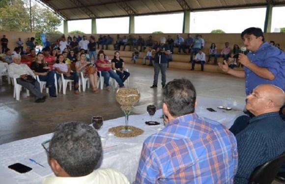 Ações de Cleiton Roque em Primavera de Rondônia destacadas na entrega de mudas de café