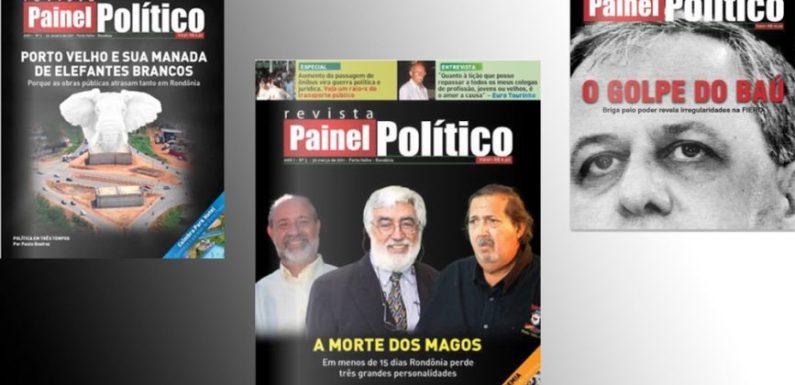 Confira todas as edições impressas de PAINEL POLÍTICO