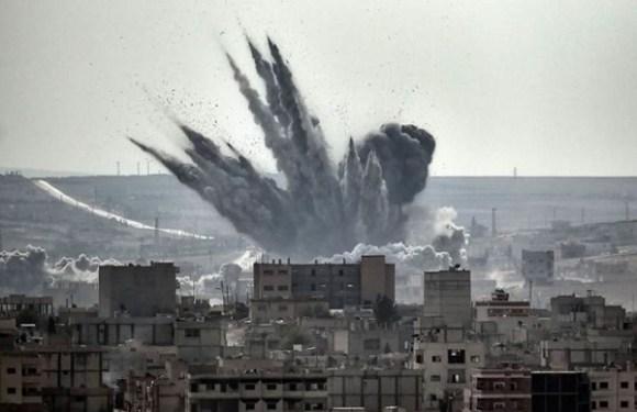 Ataques aéreos perto de Damasco deixam mais de 40 mortos na Síria