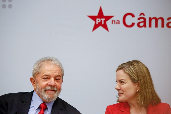 PT lança campanha contra prisão de Lula