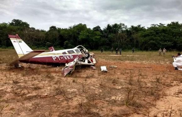 URGENTE: Avião de pequeno porte cai e mata três pessoas em Manaus