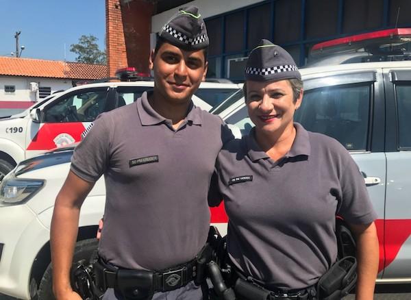 Policial descobre que colega PM é menino que salvou há 19 anos: 'De arrepiar'