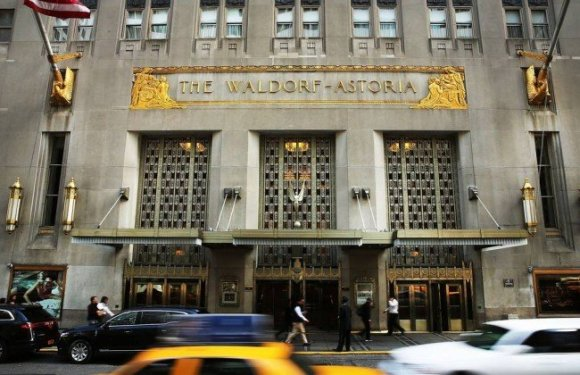 Governo chinês agora é dono do tradicional hotel Waldorf Astoria