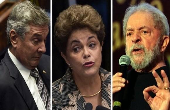 Dilma, Collor e Lula podem perder carro e outros benefícios de ex-presidentes