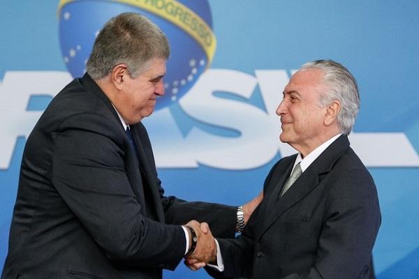"""Inquérito contra Temer no STF é """"perda de dinheiro público"""", diz Marun"""