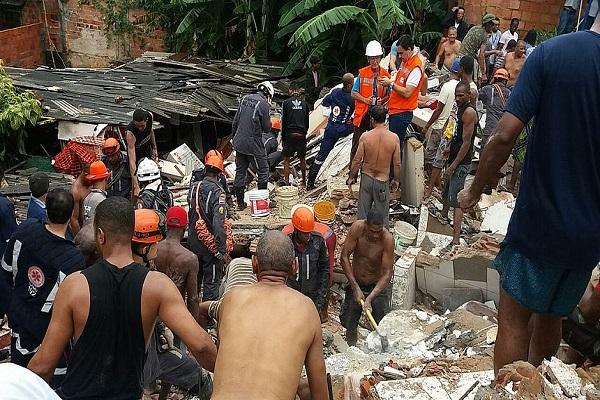 Construção de imóvel que desabou e matou criança em Salvador era irregular
