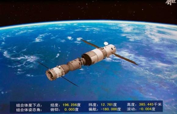 Fora de controle, estação espacial chinesa deve cair na Terra