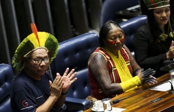 Dia do Índio é marcado por apelos no Senado