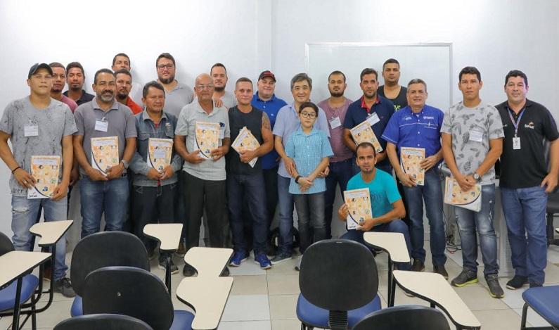 Senac inicia formação dos primeiros condutores de pesca para turista em Rondônia