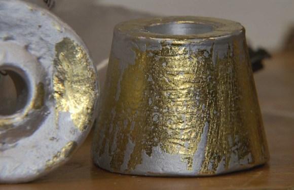 Homem é preso com R$ 1,6 milhão em ouro no aeroporto de Brasília; peças foram pintadas para disfarçar