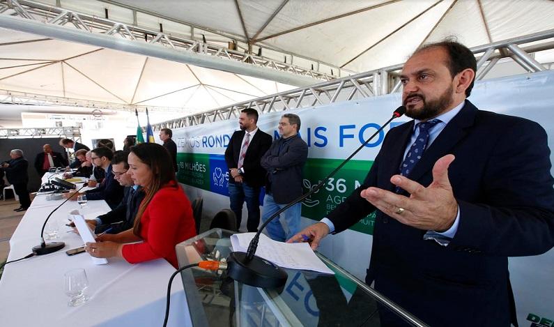 Deputado Laerte Gomes cobra do governo implantação do Refaz Rural em Rondônia