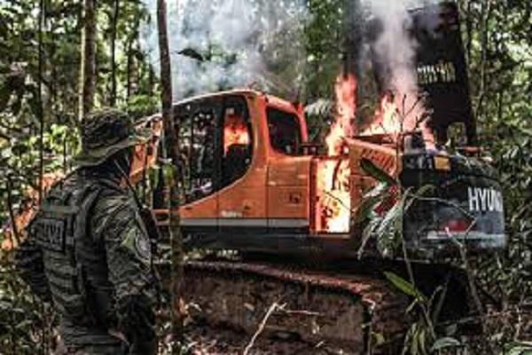 Ibama multa garimpos ilegais no Pará em R$ 49,4 milhões
