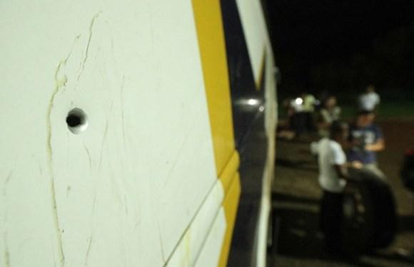 Disparo contra ônibus da caravana de Lula foi intencional, diz polícia do PR