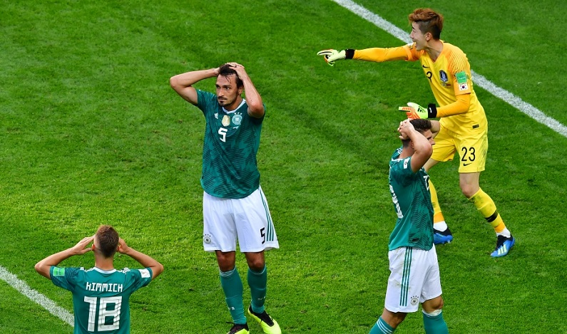 Alemanha é eliminada da Copa