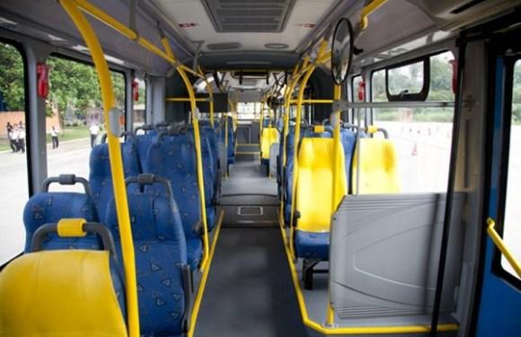 Ladrão tenta roubar ônibus que já estava sendo assaltado; passageiros batem nos dois