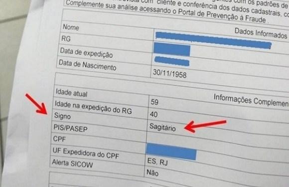 Caixa inclui informação de signo do zodíaco em cadastro de clientes