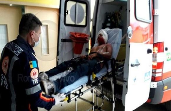 Homem é atacado a tiros pelo atual da ex-mulher ao tentar visitar os filhos em Porto Velho